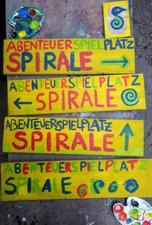 Abenteuerspielplatz Spirale